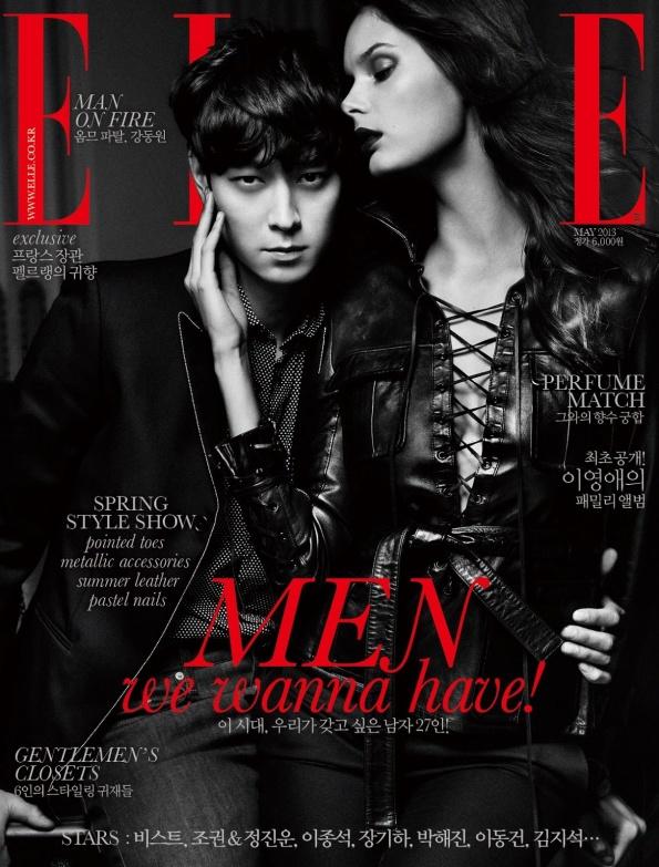 Elle-Korea-May-2013-Kang-Dong-won-Magazine-Cover